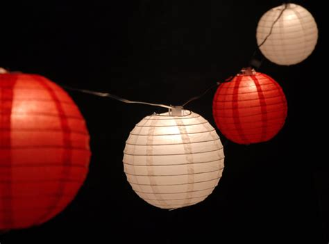 paper lantern lights globe lights 30 ft 15 sockets white