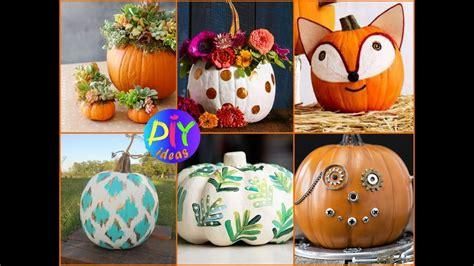 Creative Pumpkin Decorating Ideas by 50 Creative Pumpkin Decorating Ideas Diy Fall Decor