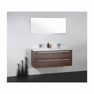 Import diffusion ensemble meuble salle de bains double for Ensemble meuble salle de bain 120 cm
