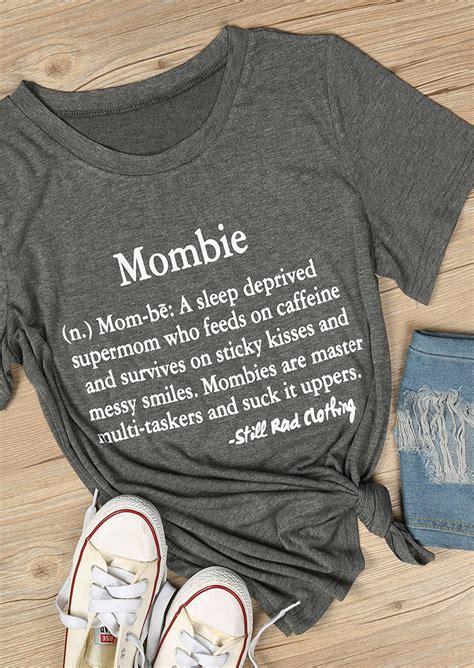 mombie  neck  shirt fairyseason