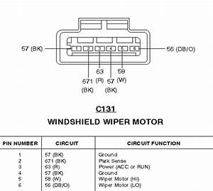 27 Wiper Motor Wiring Diagram Ford
