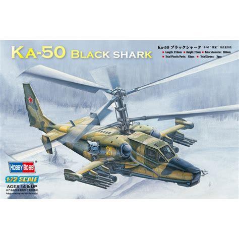 Hobbyboss 1/72 Ka-50 Black Shark Attack Helicopter Kit Hb