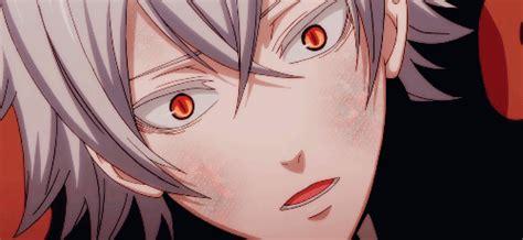 handsome animegame guys whit whitesilver hair