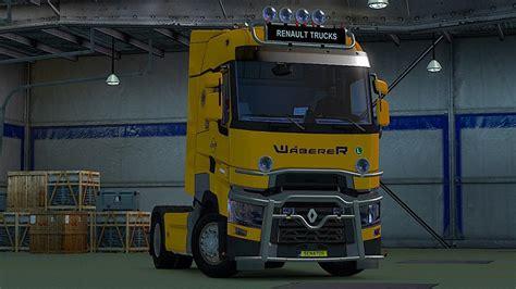 truck simulator 2 original original renault range t rta version 1 21 x truck trucks