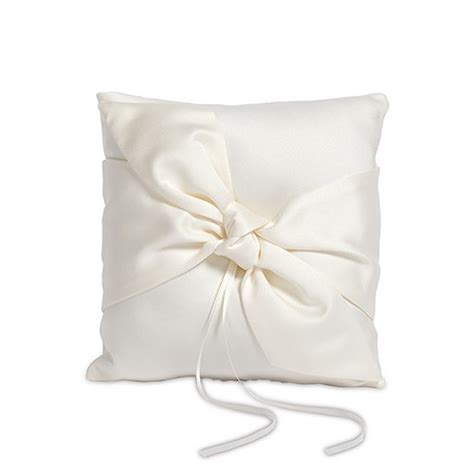 beverly clark tie the knot collection ring pillow the knot shop