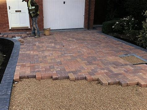 paving driveway driveways and patios abacus landscaping design