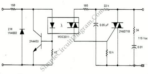 Solid State Relay Ssr With Optocoupler Triac