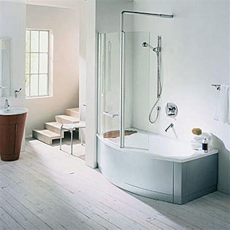bath and shower combos love this soaker tub shower combo because some bathrooms just aren t quiiiiiite big enough to