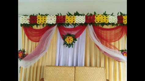 Bridal Stage Decoration Ideas With Flowers Wedding Stage