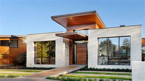 Small Modern House Exterior Design Tiny Houses, Simple