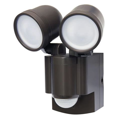 exterior flood lights motion sensor iq america bronze motion activated outdoor integrated led