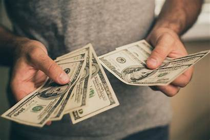 Hold Money Hands Counting Investing