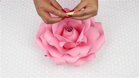 Moldes para Rosas Gigantes 2 de 2 YouTube