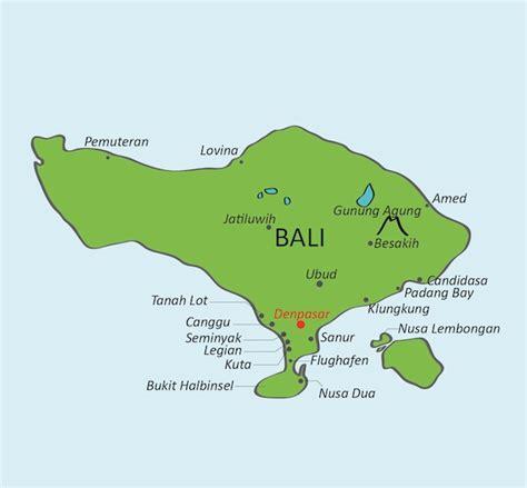 bali karte mit infos zu den besten sehenswuerdigkeiten