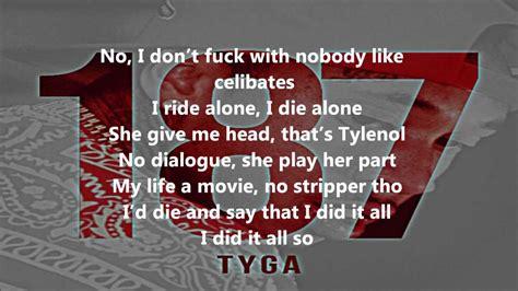 Tyga  Love Traww [lyrics] (187) Youtube