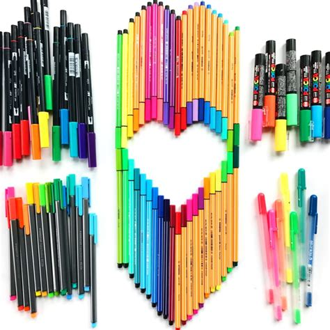 coloring pens best markers for drawing doodling and coloring color