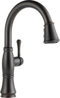 kitchen faucet delta faucet 9197 ar dst cassidy single handle pull kitchen faucet arc