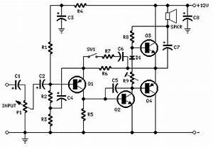 2 watt amplifier circuit diagram based cheap transistor for 2 watt amplifier circuit diagram