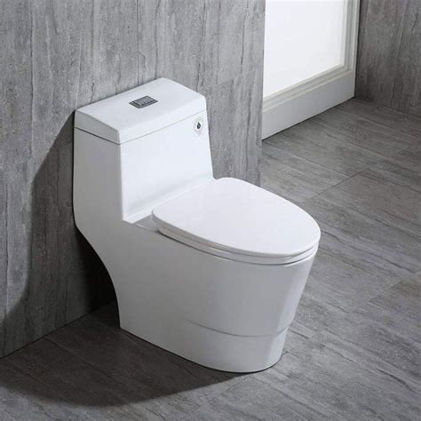 woodbridgebath   dual flush elongated  piece