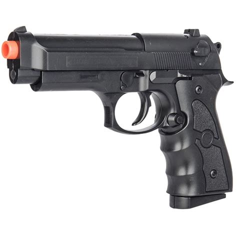 UK Arms G52 Airsoft Spring Powered Pistol - BLACK ...