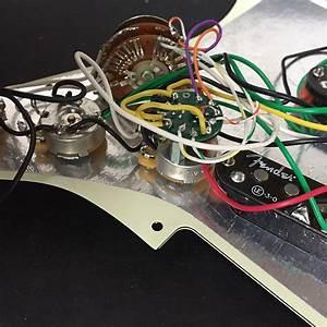 Rare Fender Scn Noiseless S