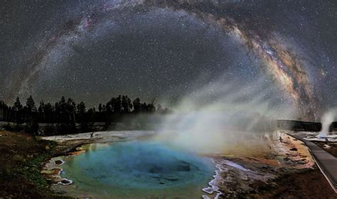 Milky Way Over Yellowstone Ripley Believe Not