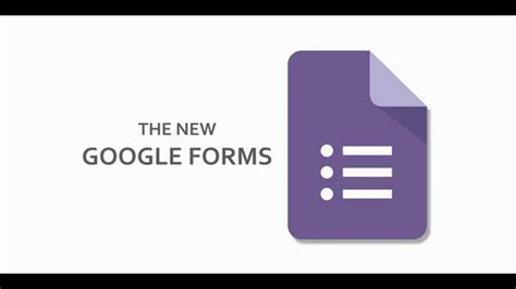How To Use The New Google Forms Youtube