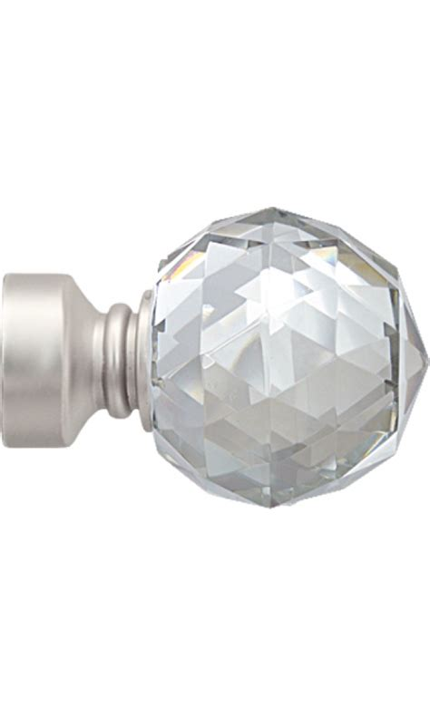 paire d embouts crystal pour barre 216 28 mm nickel