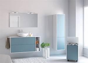 Meuble Salle De Bain : meuble de salle de bain newport aquarine ~ Teatrodelosmanantiales.com Idées de Décoration