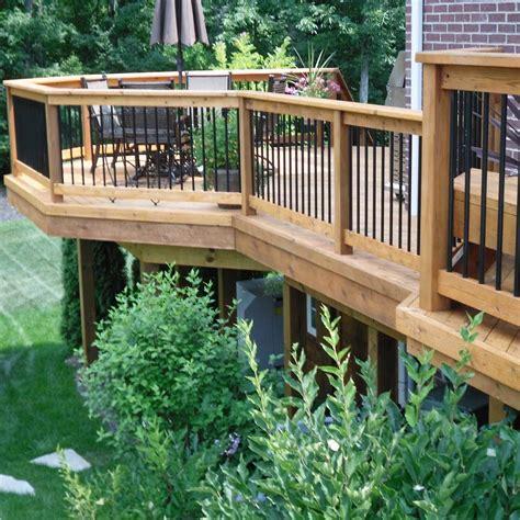 inspiring deck designsbig small family handyman