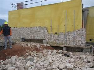 Aislamiento y revestimiento de piedra natural Muros de piedra Ferrer