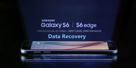 recover deleted data from samsung galaxy s6 s6 edge sms contacts