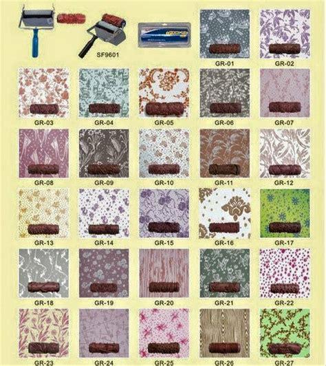 Merk Cat Tembok Untuk Motif jual roll cat motif dinding tembok wallpaper roller 3 pin
