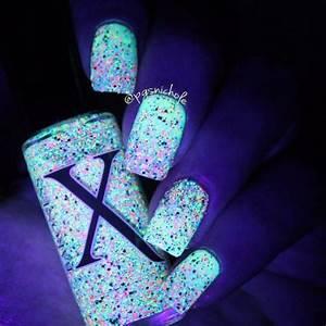Neon Bubbles Black Silver Holo & Neon Microglitter