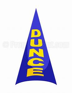 dunce cap photo booth prop With dunce hat template