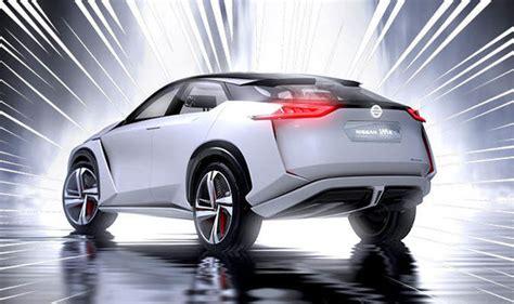 nissans  electric car feature debuted  imx concept