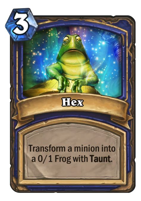 hex hearthstone card