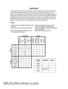 Printable Logic Puzzle Worksheets High School
