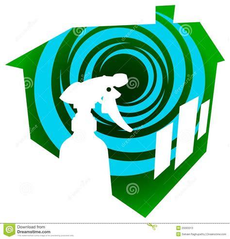 nettoyage de chambre logo de nettoyage de chambre photos stock image 20093313