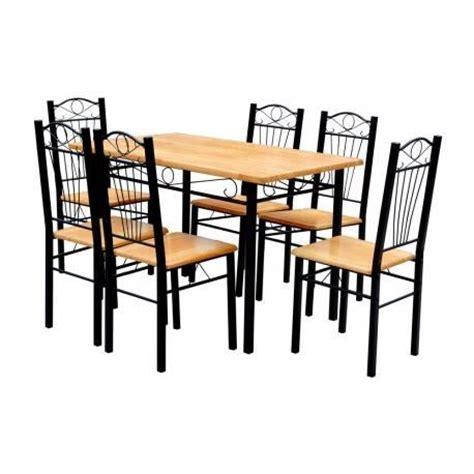 table et 6 chaises pas cher table 6 chaises cuisine salon maja achat vente table salle a manger pas cher couleur et