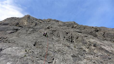 full day introduction  rock climbing  canmore