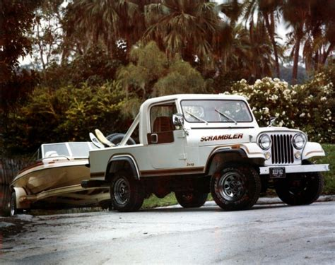 jeep scrambler 1982 vintage photo 1982 jeep scrambler sport the jeep blog
