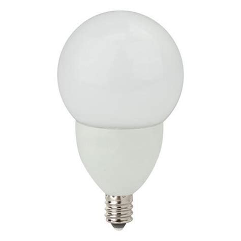 tcp lighting led4e12g1627kf dimmable frosted led globe