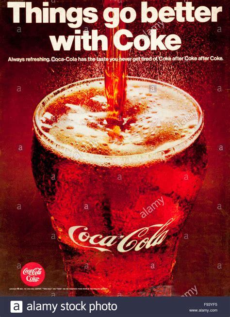 1960s magazine advertisement advertising Coca-Cola. Things ...