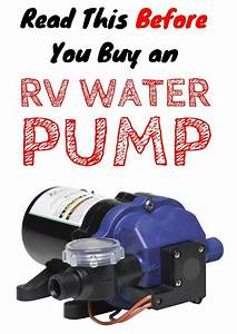Everything You Need To Know About Rv Water Pumps  A Buyer