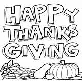 Coloring Thanksgiving Pages Printable Popular sketch template