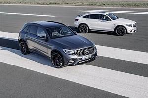 2018 Mercedes AMG GLC63 And GLC Coupe 63 Bring The V8