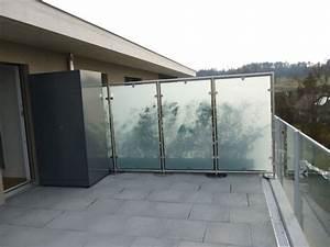 Milchglas Für Balkon : sichtschutz balkon ~ Markanthonyermac.com Haus und Dekorationen