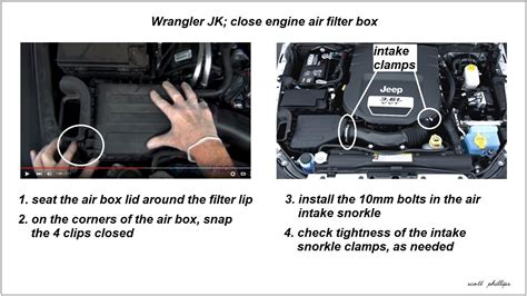 Jeep Wrangler How Replace Air Filter