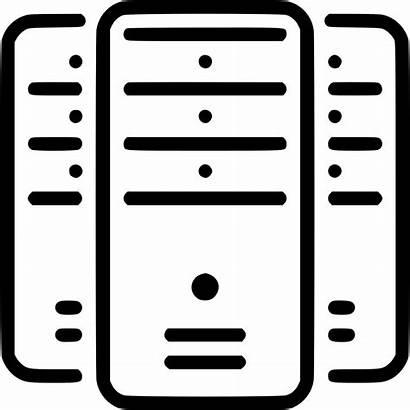 Servers Icon Server Storage Network Icons Svg